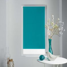 Occult Plain Blackout Roller Blind - Blue