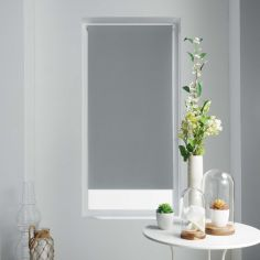 Occult Plain Blackout Roller Blind - Grey
