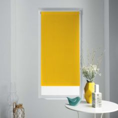 Occult Plain Blackout Roller Blind - Yellow