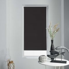 Occult Plain Blackout Roller Blind - Black