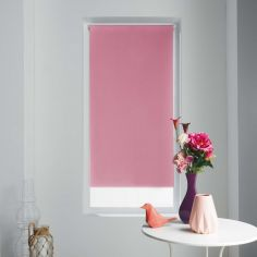 Occult Plain Blackout Roller Blind - Rose Pink