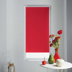 Occult Plain Blackout Roller Blind - Red