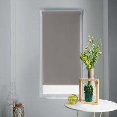 Occult Plain Blackout Roller Blind - Taupe