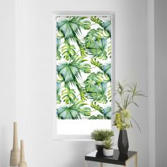 Naopi Tropical Leaf Roller Blind - Multi