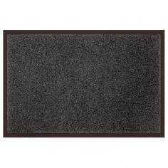 Telio Plain Rectangular Anti Dust Rug - Grey
