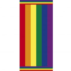 Rainbow Stripe Beach Towel - Multi