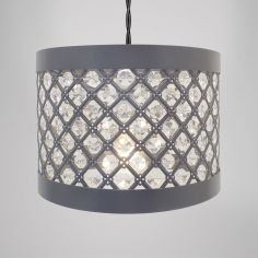 Moda Gem Light Fitting - Grey