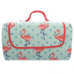 Flamingo Picnic Blanket - Pink Multi