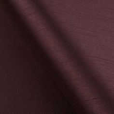 Aubergine Faux Silk Made to Measure Roman Blind