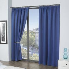 Luxury Thermal Supersoft Blackout Curtains Blue