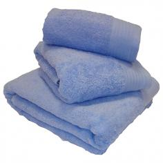 Egyptian Cotton Combed Supersoft Towel Blue