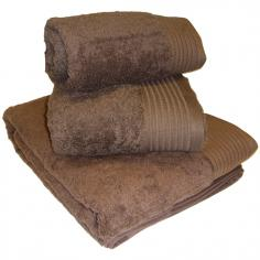 Egyptian Cotton Combed Supersoft Towel Chocolate Brown