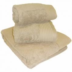 Egyptian Cotton Combed Supersoft Towel Beige