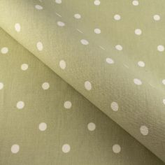 Sage Dotty Made to Measure Roman Blind