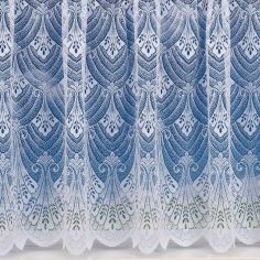 Rome Heavy White Net Curtain