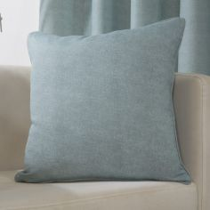 Plain Belvedere Cushion Cover - Duck Egg Blue