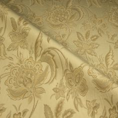 Natural Buckingham Made to Measure Curtain