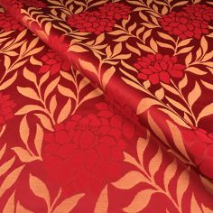 Red Isabella Made to Measure Curtain
