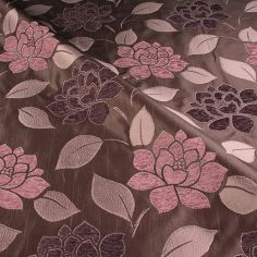 Aubergine Pimlico Made to Measure Curtain