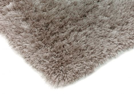 Eva Table Tufted Plain Rug - Dusk Grey