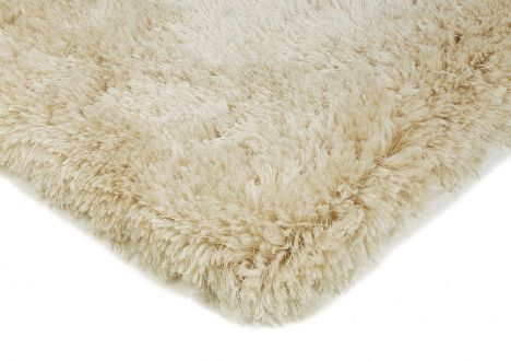 Eva Table Tufted Plain Rug - Sand Natural
