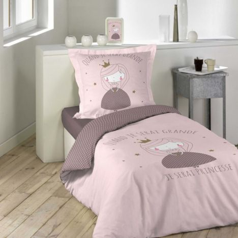 Alice Kids Princess Duvet Cover Set - Pink Multi: Single