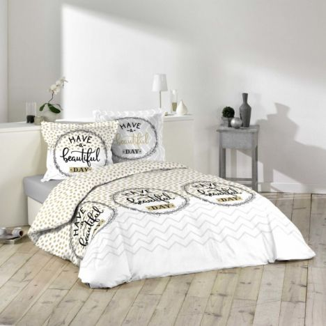 Beautiful Day Spotted Duvet Cover Set - Multi: Single