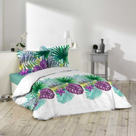 Dominica Floral Duvet Cover Set - Multi: King