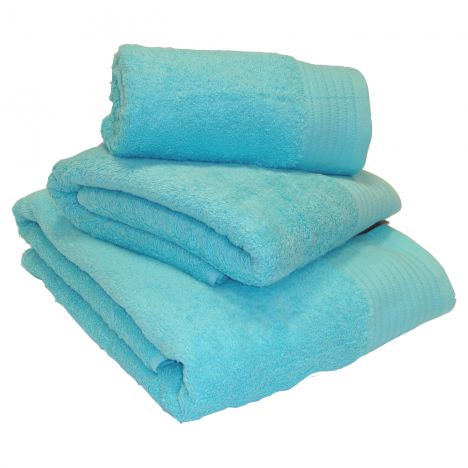 Egyptian Cotton Combed Supersoft Towel - Turquoise: Face Cloth