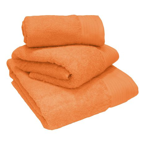 Egyptian Cotton Combed Supersoft Towel Orange: Face Cloth