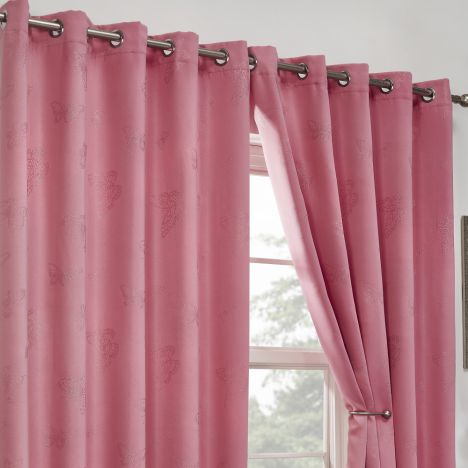 Blackout Curtains Thermal Pink Tony S Textiles
