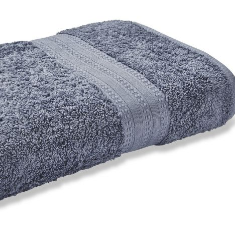 Bianca 100% Cotton Soft Egyptian Towel - Chambray Blue
