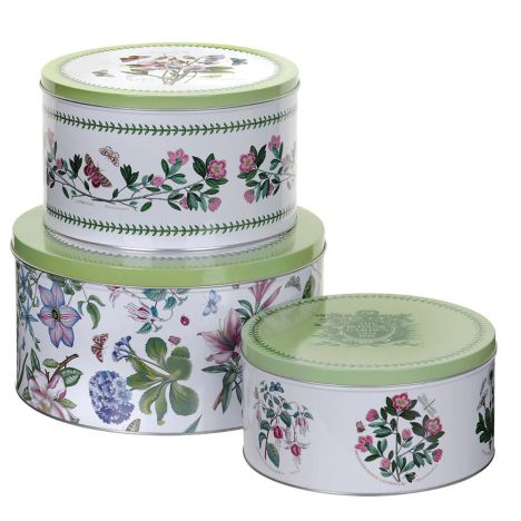 Pimpernel Botanic Garden Cake Tins - Set of 3