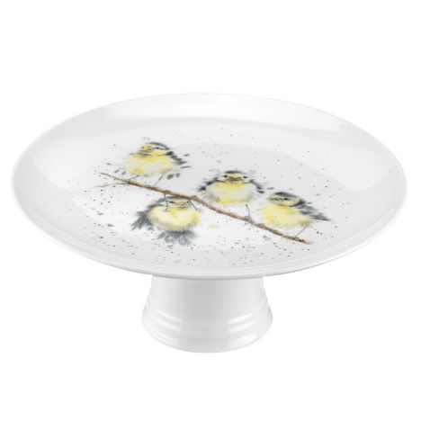 Wrendale Royal Worcester Birds Footed Cake Stand