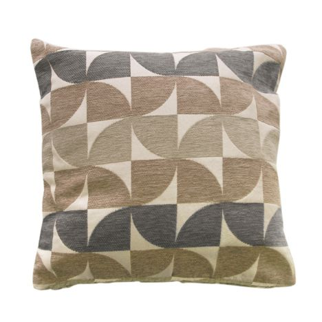 Windmill Geometric Cushion Cover - Grey