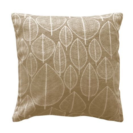 Kirkton Leaf Cushion Cover - Natural