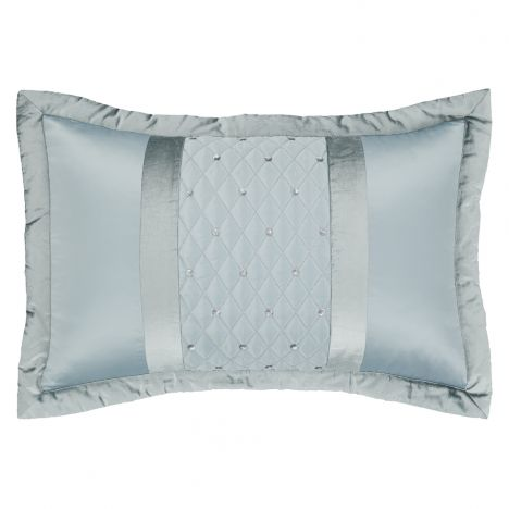 Catherine Lansfield Sequin Cluster Pillowsham Pair - Duck Egg Blue