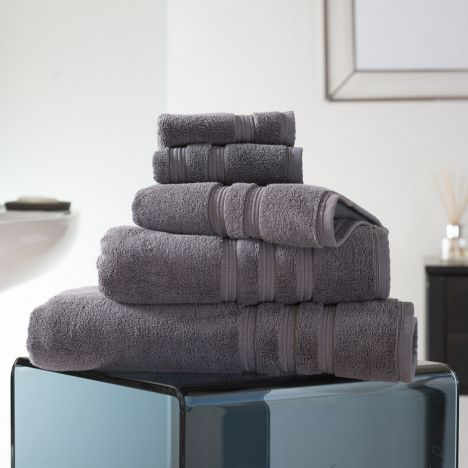 Hotel Quality Opulence 100% Cotton 800gsm Bathroom Towel - Magnesium Grey