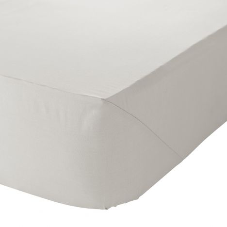 Catherine Lansfield Non Iron Extra Deep Fitted Sheet Cream
