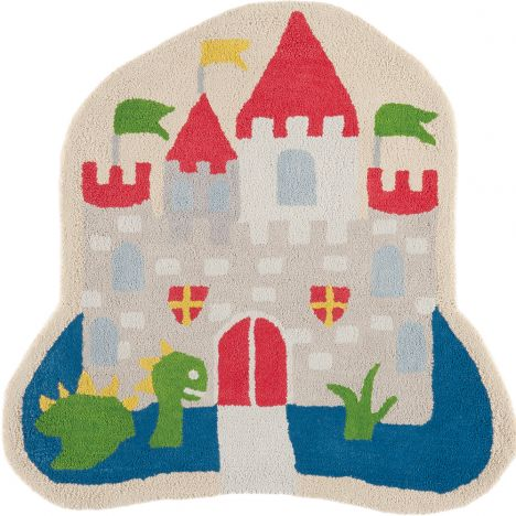 Candy Hand Tufted Kids Castle Rug - Multi 0008