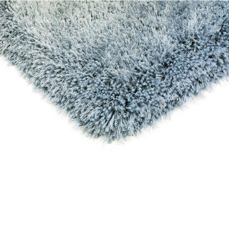 Cascade Table Tufted Plain Rug - Duck Egg Blue