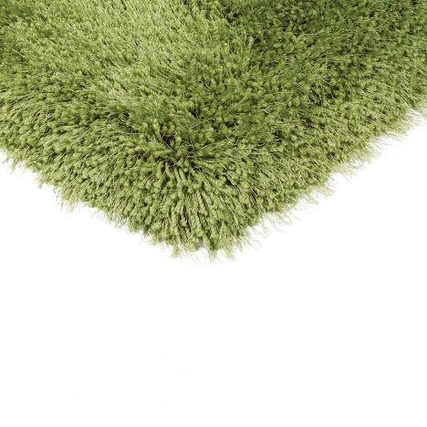 Cascade Table Tufted Plain Rug - Forest Green