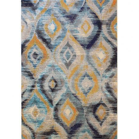 Colores Machine Woven Geometric Rug - Multi 09