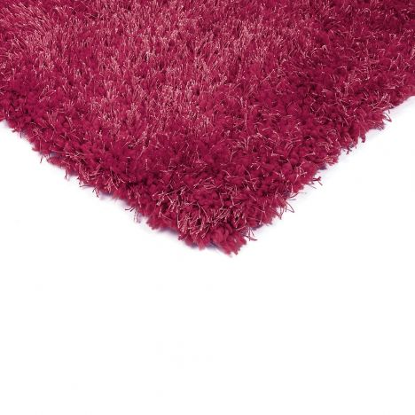 Diva Table Tufted Plain Rug - Pink
