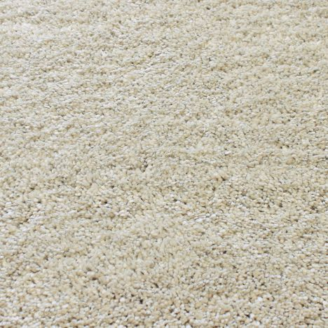 Drift Machine Woven Plain Rug - Cream 06