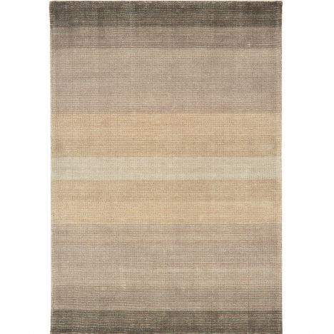Hays Hand Woven Stripe Rug - Taupe