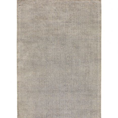 Ives Hand Woven Chenille Runner - Silver Grey