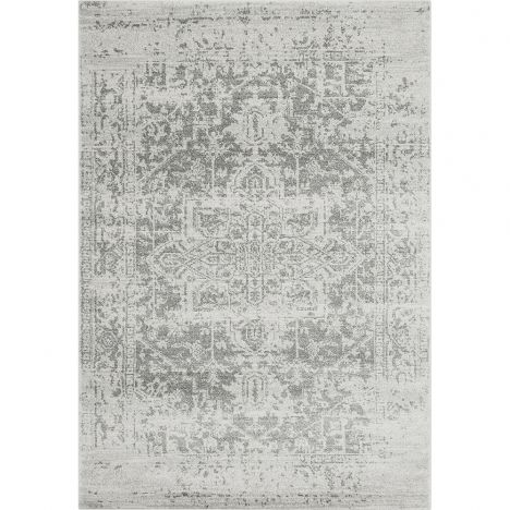 Nova Rug Machine Woven Vintage Rug - Antique Grey 10