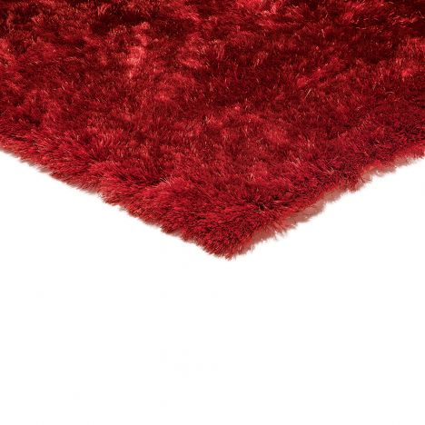 Whisper Table Tufted Plain Rug - Mars Red