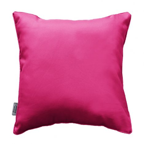 Essentiel Plain Cushion with Piping - Fuchsia Pink